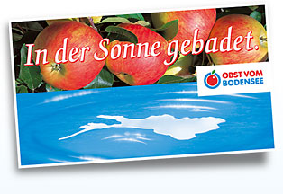 Obst vom Bodensee